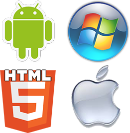 Developers for Windows, Android, HTML5 and IOS